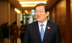 Truong Tan Sang steps down as Vietnamese President