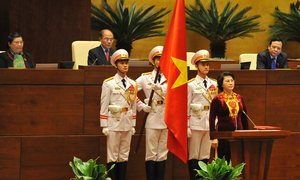 Vietnam elects first female legislature leader