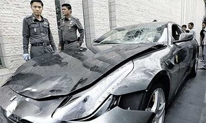 Thai police to revive Red Bull heir hit-and-run case