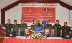 Vietnam develops defense e-portal for Laos