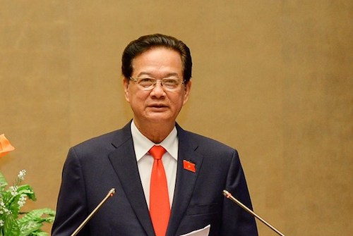 Nguyen Tan Dung steps down as Vietnam PM
