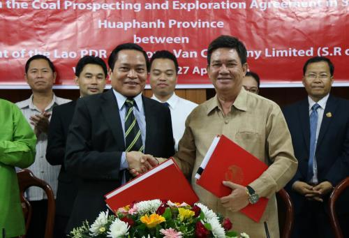 Vietnamese firm signs deal with Laos to work on 60 million ton coal mine