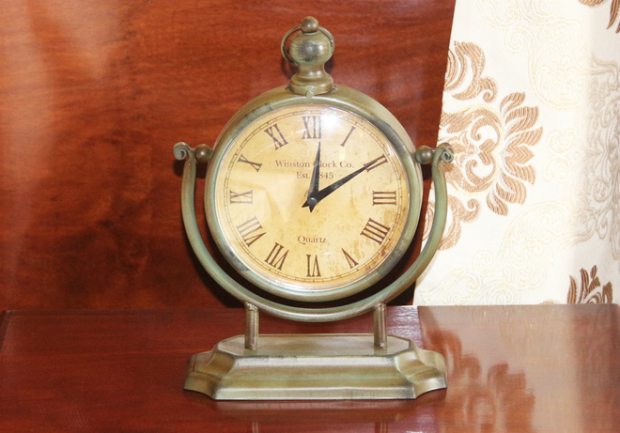 This clock used to be the time teller to the president.