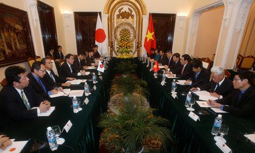 Vietnam asks Japan for vessels to strengthen coastguard
