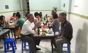 A regular Monday night and 'bun cha' with Obama
