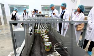 Dairy giant Vinamilk opens $23 million plant in Cambodia