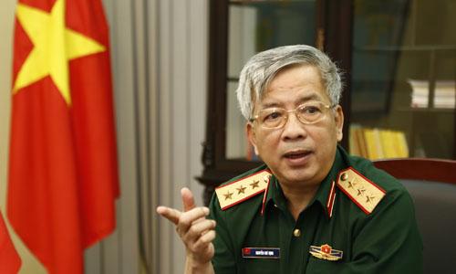 Senior Lieutenant General, Nguyen Chi Vinh. Photo by VnExpress/Nhat Quang
