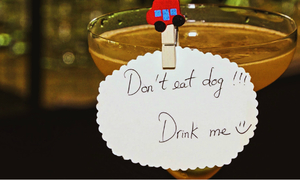 Dog meat cocktail - dare to try this canine concoction?