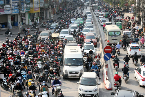 Environment official admits Hanoi air quality degrading