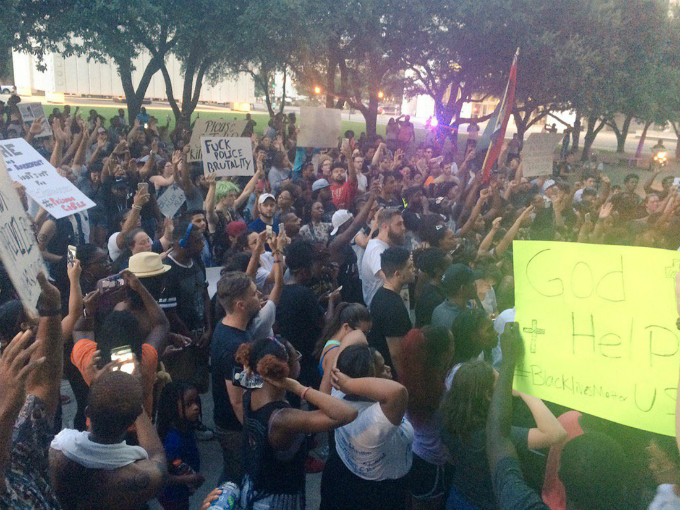 Four officers killed, seven wounded in Dallas shooting protest