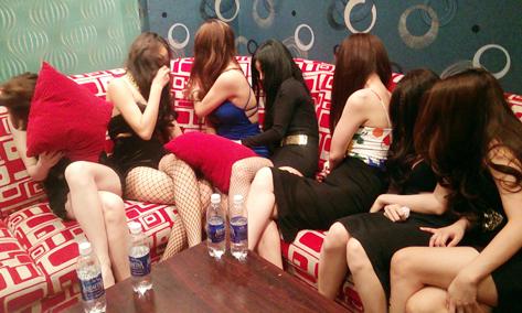 Escort girls in Ho Chi Minh City