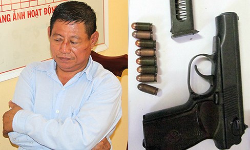 Cambodian cop arrested for shooting dead Vietnamese gold shop owner