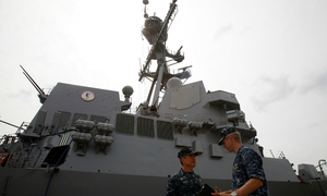 Beijing vows to continue S. China Sea construction