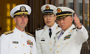 U.S. says its forces will keep operating in South China Sea