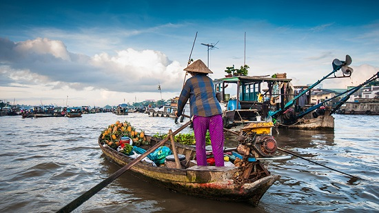 Floating markets have long been the iconic feature of the Mekong Delta.