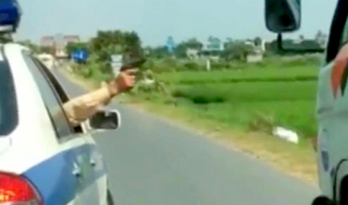 Traffic police should be allowed to fire on fleeing vehicles: senior police official