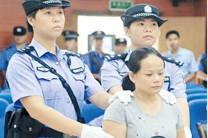 China upholds death sentence for Vietnamese baby trafficker