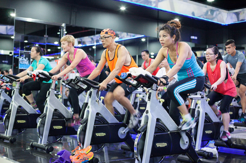 Vietnam's growing middle class pump up fitness industry
