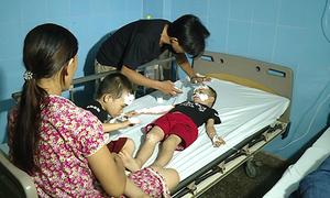 Hydrogen balloon explosion injures 10 in central Vietnam