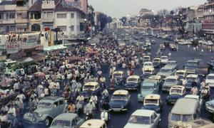 Saigon's 50-year long traffic jam