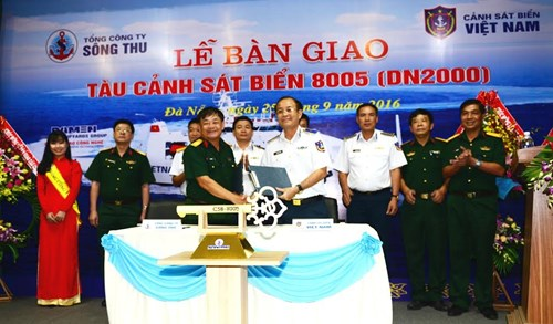 Vietnam Coast Guard muscles up with Netherlands-designed vessel