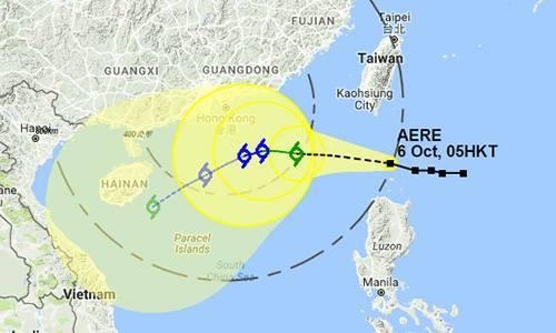 Tropical storm bears down on Vietnam