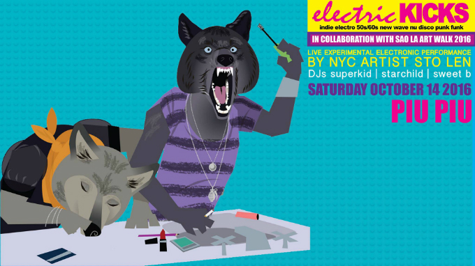 Electric Kicks: Indie Electro Dance Party