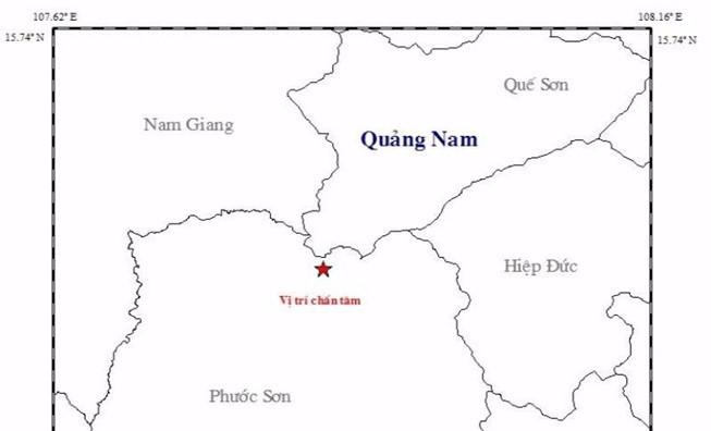 Magnitude 3.4 earthquake strikes off central Vietnam
