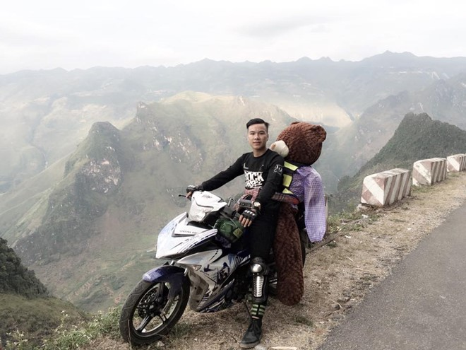Travel with your teddy bear in Vietnam. Why not?