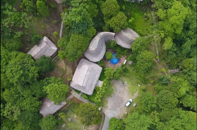 Vietnamese bamboo house
