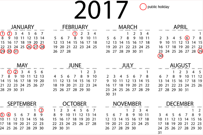Vietnam all set for long holidays in 2017