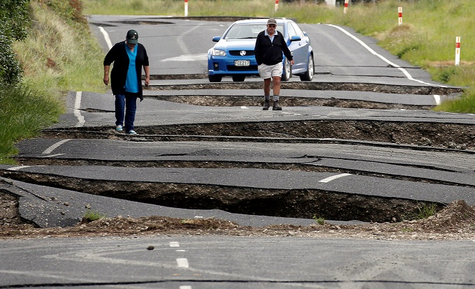 Two dead as huge quake rocks New Zealand