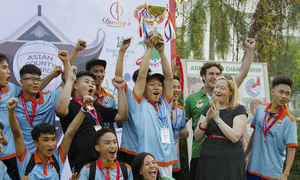 Hanoi disadvantaged kids dream big with Gaelic football