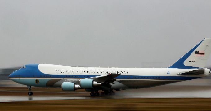 Trump says new Air Force One too costly: 'Cancel order!'