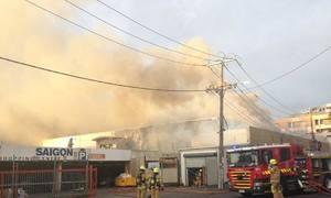 Fire destroys iconic Vietnamese market in Australia