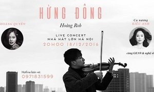 Live Concert: 'Breaking Dawn' by Hoang Rob