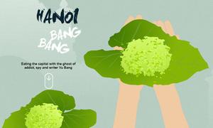 Hanoi Bang Bang II: Fall's green rice flakes