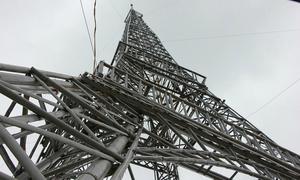 Vietnamese town lights up Xmas Eiffel tower