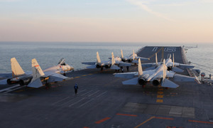 China's aircraft carrier to drill in Western Pacific