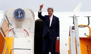 John Kerry begins farewell tour to Vietnam as successor talks tough on China