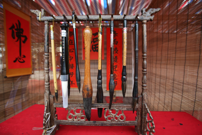 Lucky charms: calligraphy writes good fortune in Vietnam