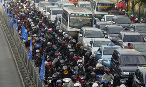 Think you've got it bad in Vietnam? Here're the 5 countries with the worst traffic