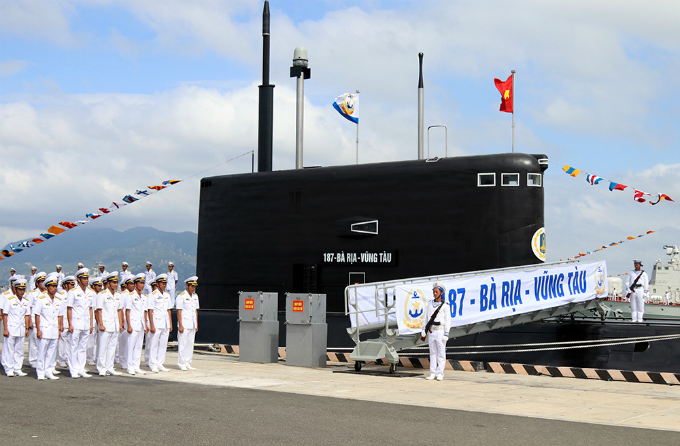 First look at Vietnam's newest stealth submarines