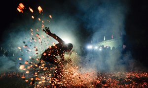 Vietnamese firewalking photo hot-foots into final round of Smithsonian contest