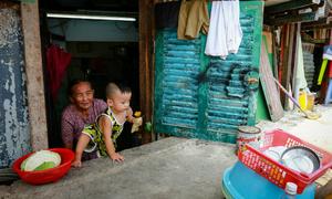 Saigon homes left underground after road elevation