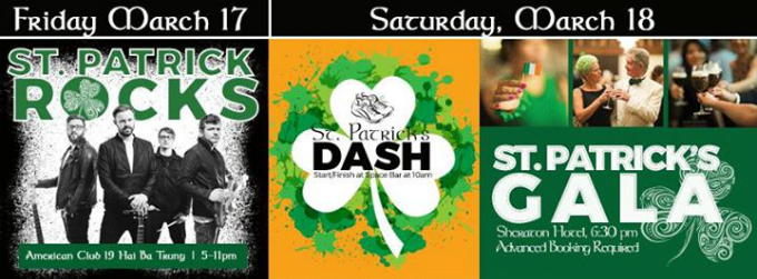 St. Patrick's Hanoi Weekend (Rock Concert – Fun Run – Gala Ball)