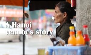 A Hanoi vendor's story reveals dilemma for sidewalk cleanup