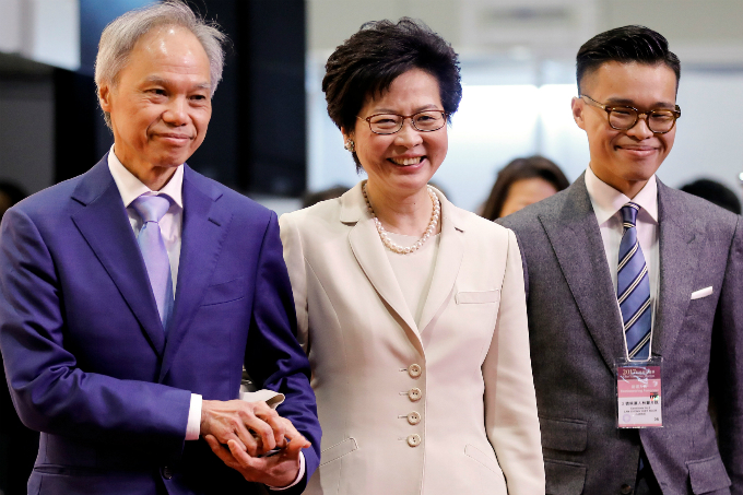 Hong Kong chooses new Beijing-backed leader amid political tension