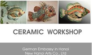 Weekend workshop: Ceramic Fishes