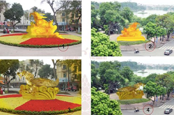 Giant turtle statue proposal fails to float Hanoi's boat